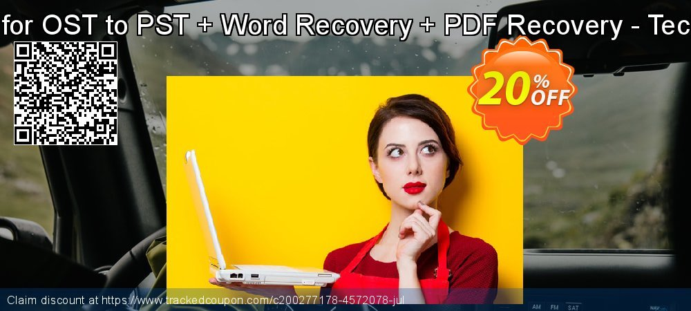Recover Data for OST to PST + Word Recovery + PDF Recovery - Technical License coupon on Exclusive Student discount offer
