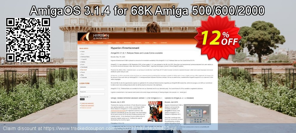 AmigaOS 3.1.4 for 68K Amiga 500/600/2000 coupon on April Fool's Day discounts