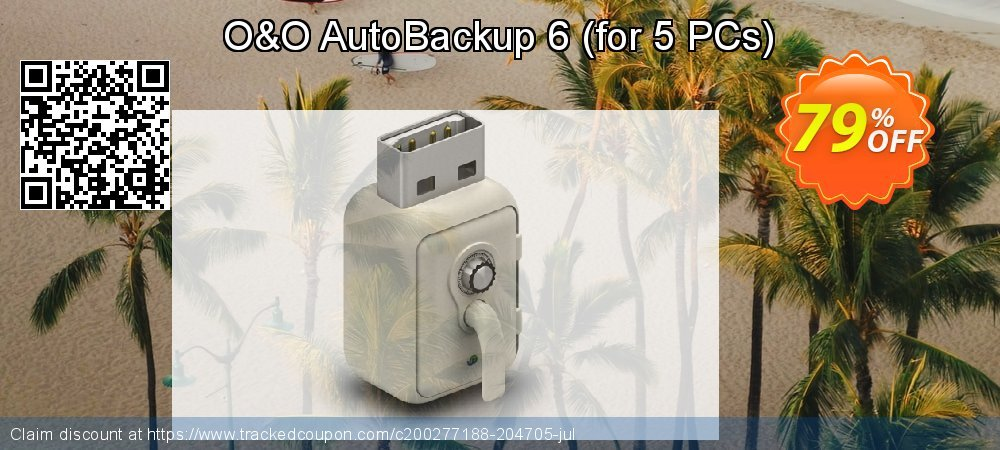 O&O AutoBackup 6 - for 5 PCs  coupon on World Teachers' Day discounts