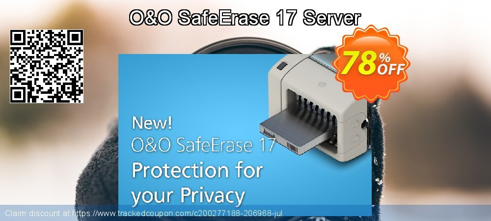 O&O SafeErase 16 Server coupon on Mom Day super sale