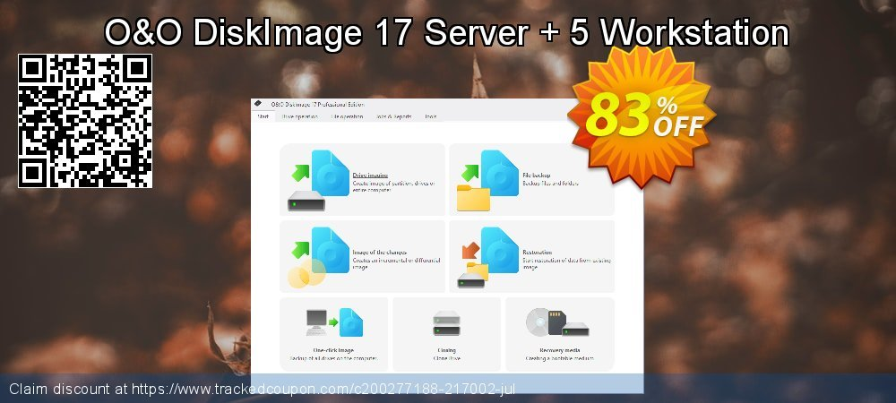 O&O DiskImage 16 Workstation coupon on Mom Day offering sales
