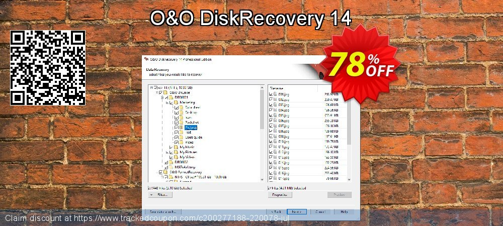 Claim 60% OFF O&O DiskRecovery Professional Edition Coupon discount October, 2019
