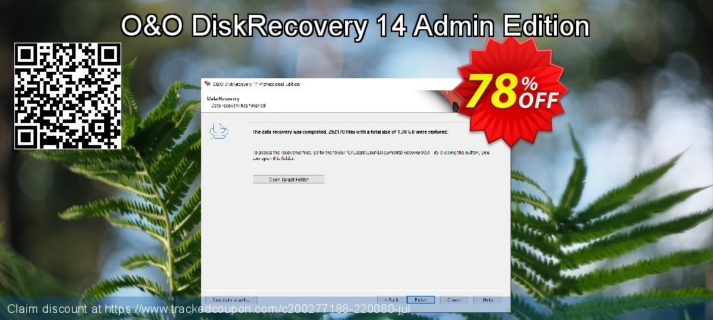 Claim 60% OFF O&O DiskRecovery Admin Edition Coupon discount October, 2019