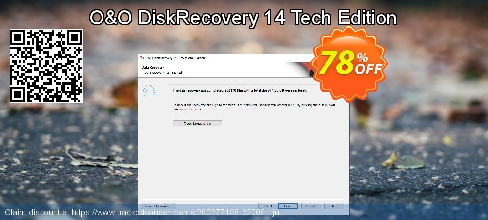 Claim 60% OFF O&O DiskRecovery Tech Edition Coupon discount October, 2019