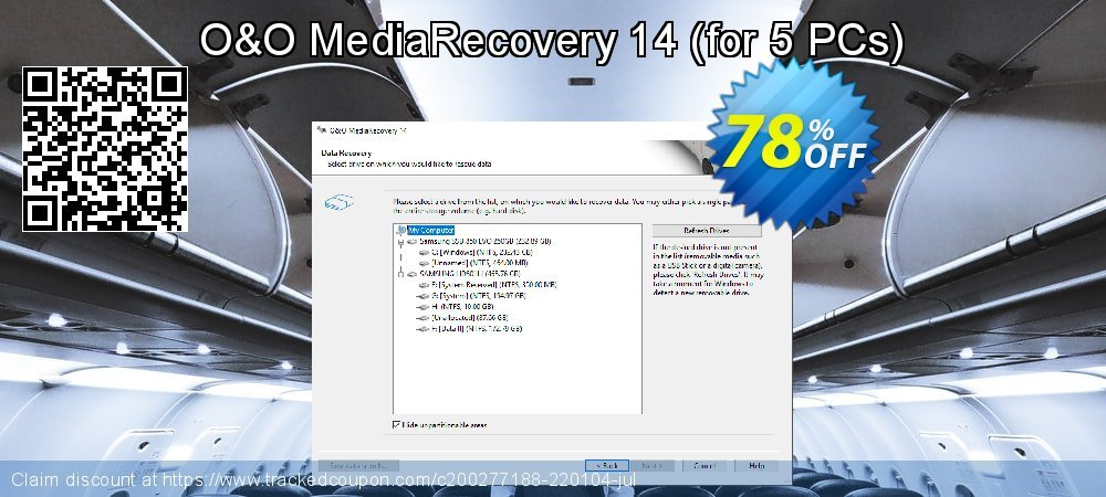 Claim 71% OFF O&O MediaRecovery 14 - for 5 PCs Coupon discount May, 2021