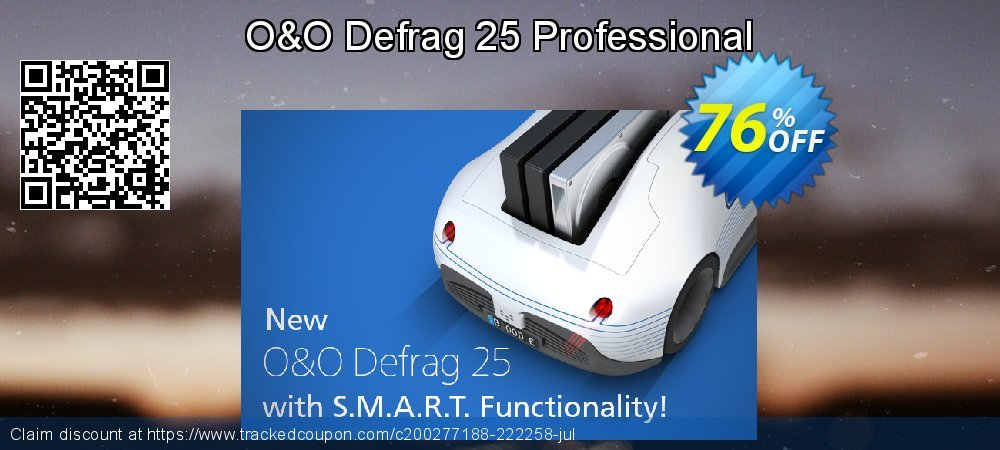 O&O Defrag 24 Professional coupon on Mom Day offering sales