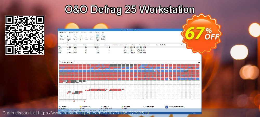 O&O Defrag 24 Workstation coupon on Mothers Day discounts