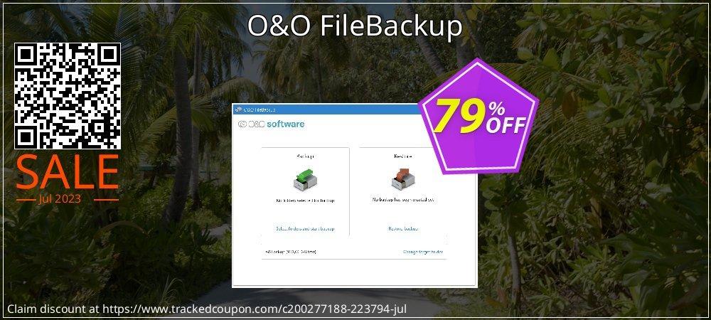 O&O FileBackup coupon on Mom Day offer