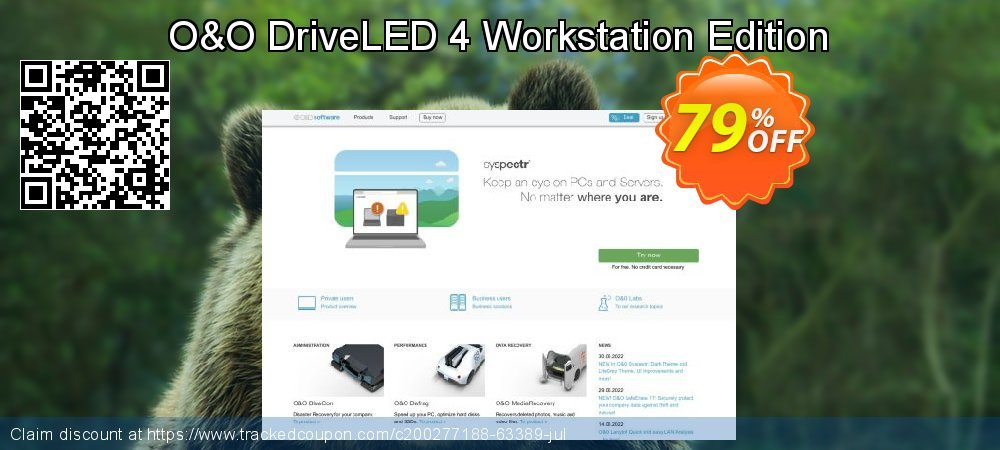 O&O DriveLED 4 Workstation Edition coupon on Chinese National Day sales
