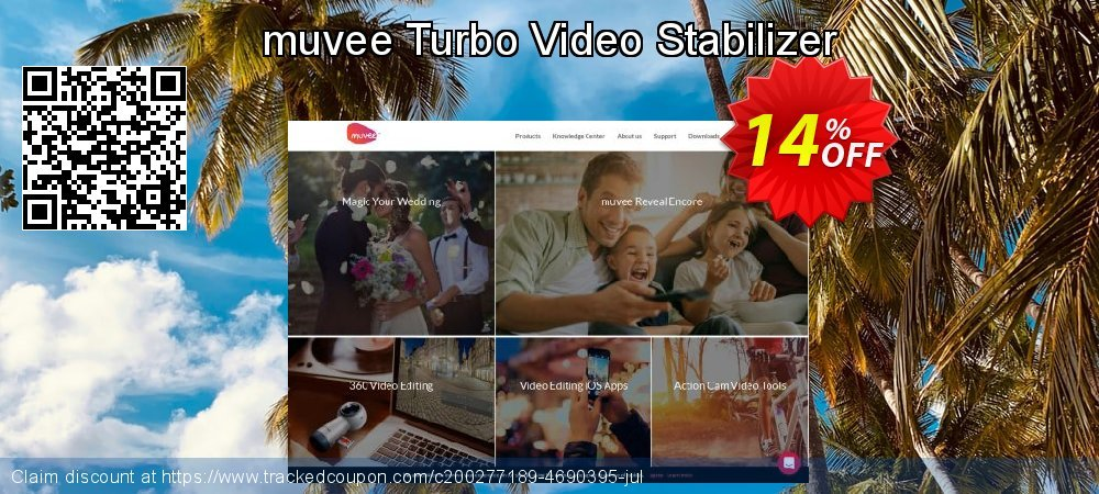 Get 10% OFF muvee Turbo Video Stabilizer offering sales
