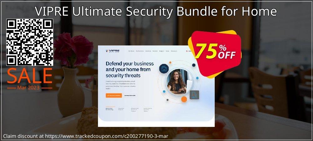Get 75% OFF VIPRE Ultimate Security Bundle for Home offering sales