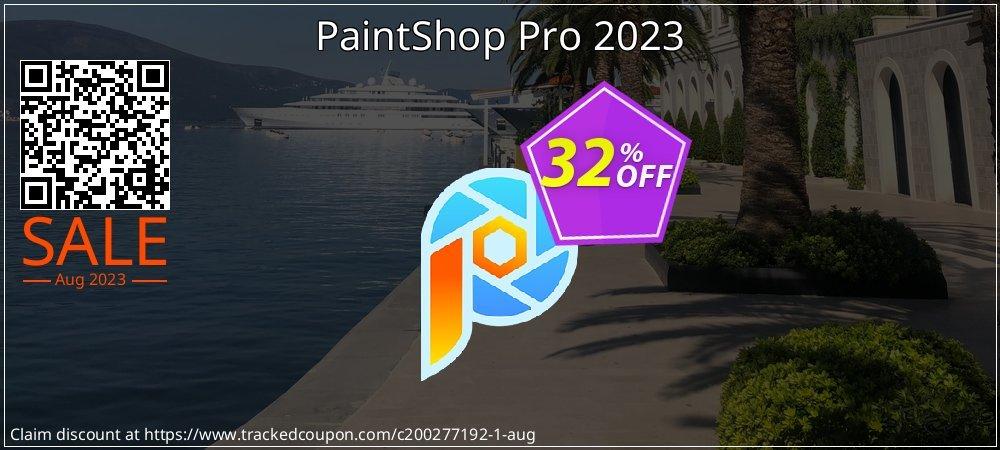 PaintShop Pro 2021 coupon on Summer sales