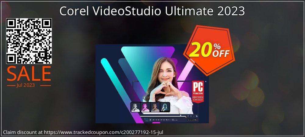 Corel VideoStudio Ultimate 2021 coupon on Int'l. Women's Day deals
