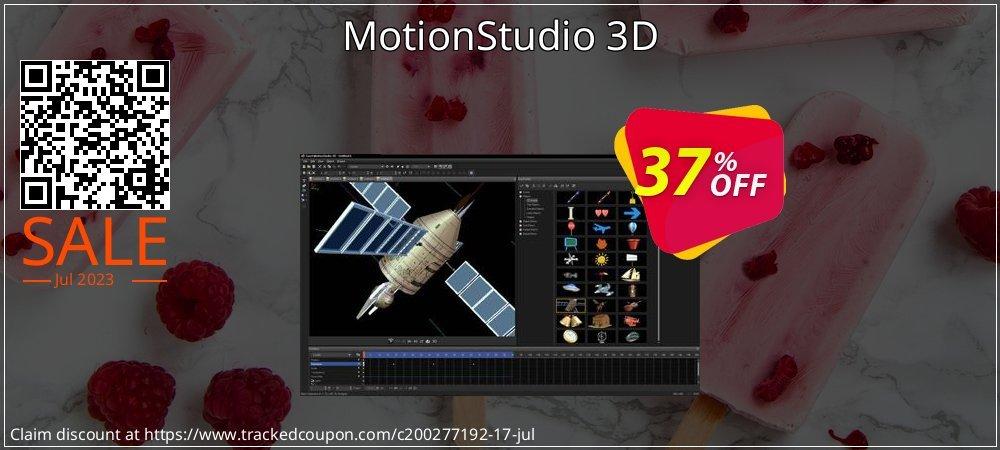 MotionStudio 3D coupon on Black Friday offer