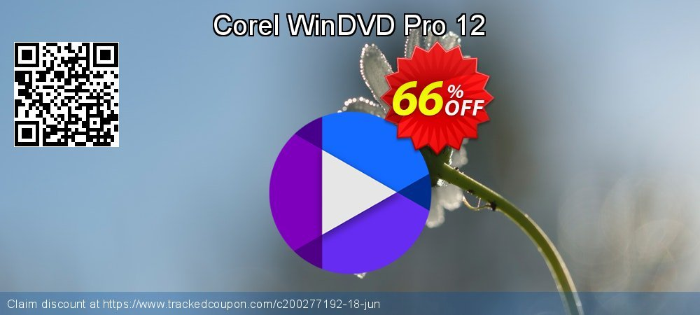 Corel WinDVD Pro 12 coupon on Thanksgiving discount