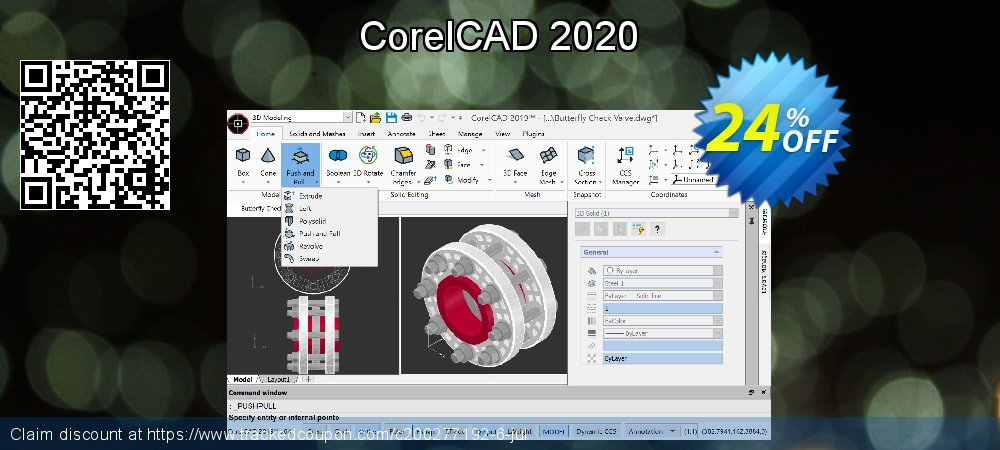 CorelCAD 2020 coupon on Thanksgiving sales