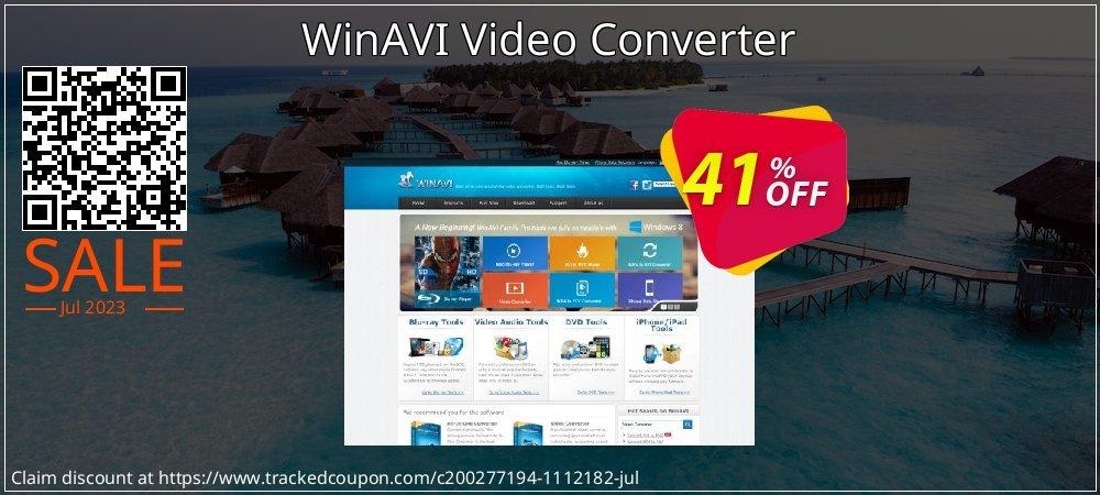 WinAVI Video Converter coupon on Mid-year discounts