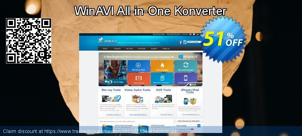 WinAVI All-in-One Konverter coupon on 4th of July promotions