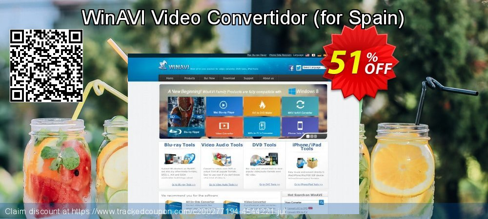 WinAVI Video Convertidor - for Spain  coupon on Black Friday sales