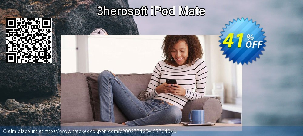 3herosoft iPod Mate coupon on July 4th offer