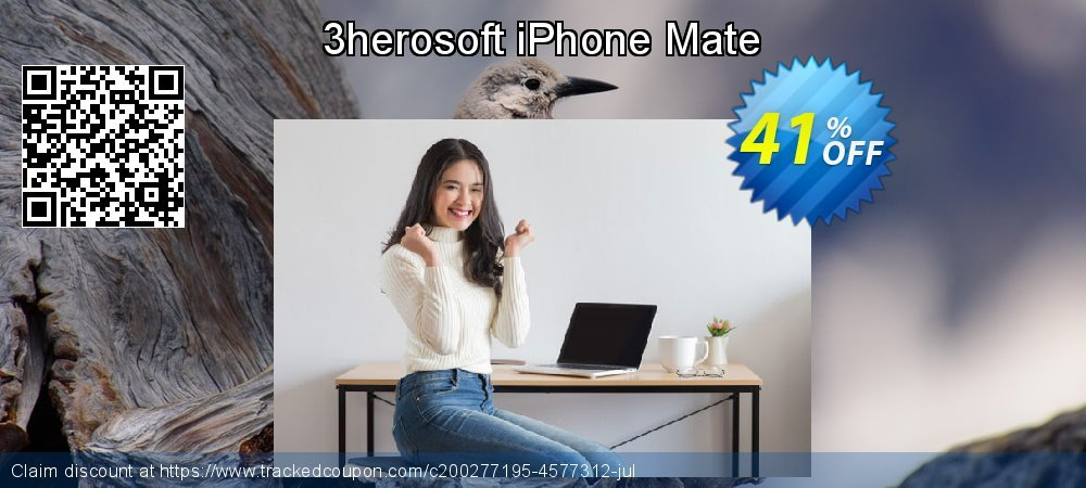3herosoft iPhone Mate coupon on 4th of July offering discount