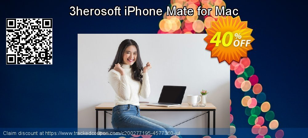 3herosoft iPhone Mate for Mac coupon on 4th of July discounts