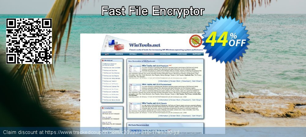 Fast File Encryptor coupon on  Lover's Day offering discount