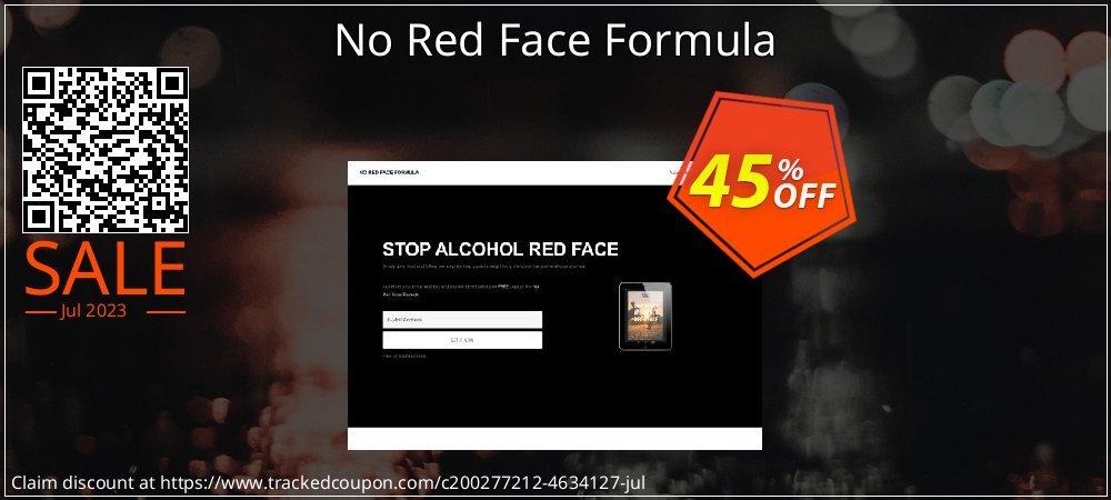 Get 40% OFF No Red Face Formula sales