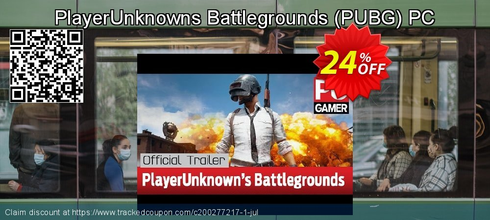 PlayerUnknowns Battlegrounds - PUBG PC coupon on Mothers Day offering sales