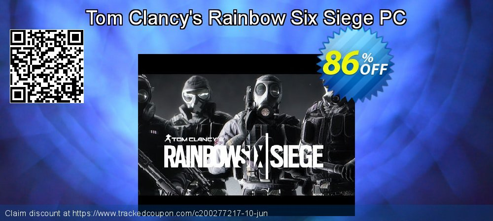 Tom Clancy's Rainbow Six Siege PC coupon on Mom Day offering sales