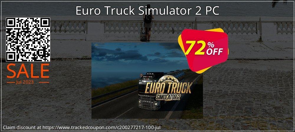Get 58% OFF Euro Truck Simulator 2 PC promo