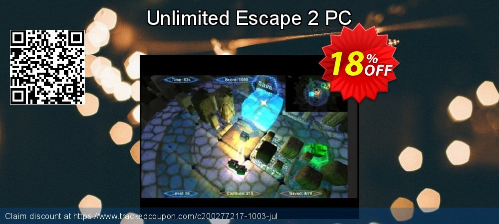 Unlimited Escape 2 PC coupon on Talk Like a Pirate Day discount