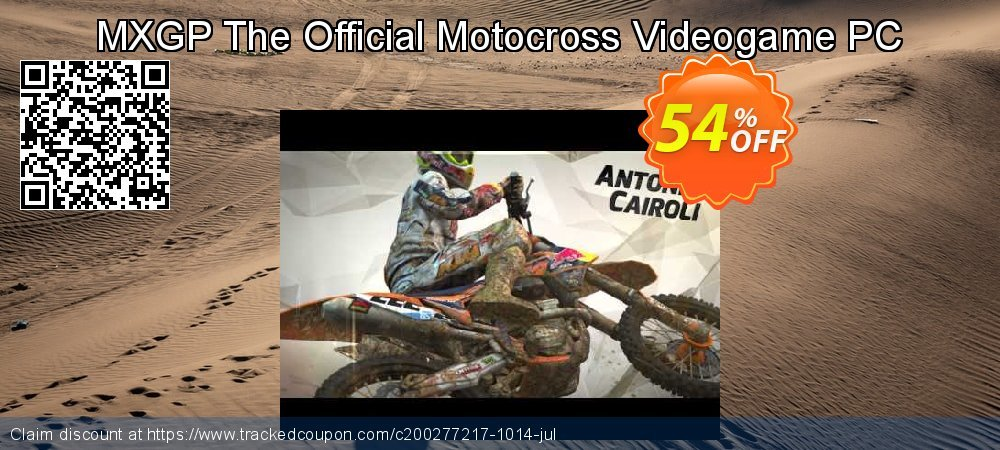 MXGP The Official Motocross Videogame PC coupon on American Chess Day offering sales