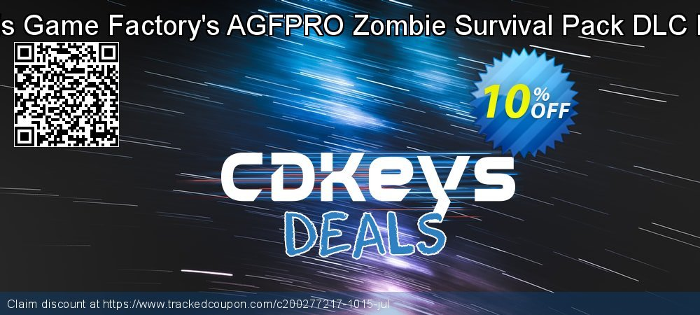 Axis Game Factory's AGFPRO Zombie Survival Pack DLC PC coupon on Wildlife month super sale