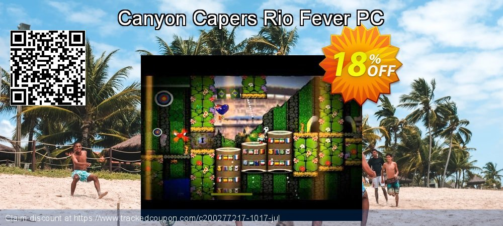 Canyon Capers Rio Fever PC coupon on World Bollywood Day promotions