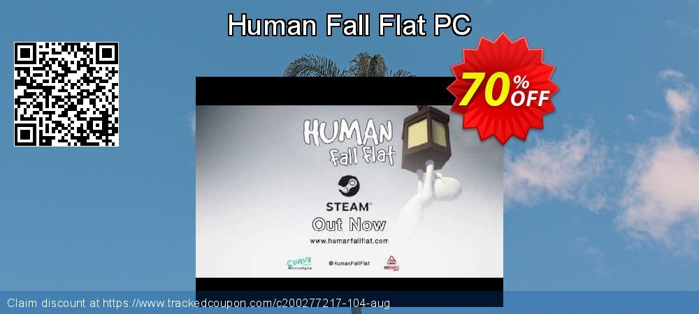 Human Fall Flat PC coupon on Mom Day sales