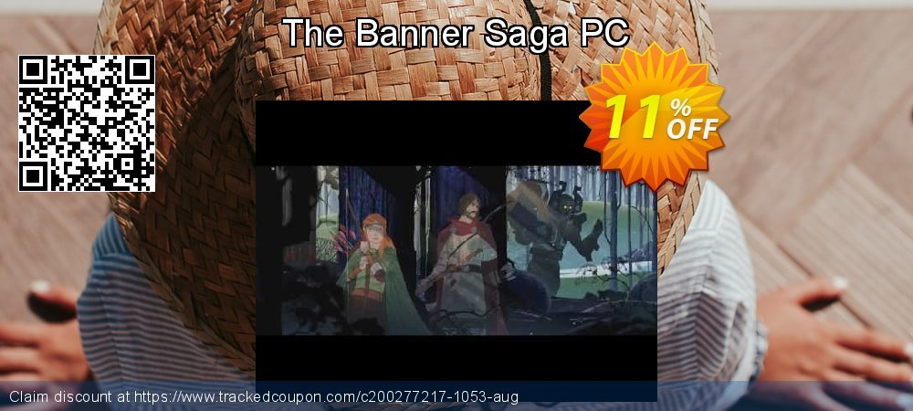 The Banner Saga PC coupon on National Cleanup Day promotions