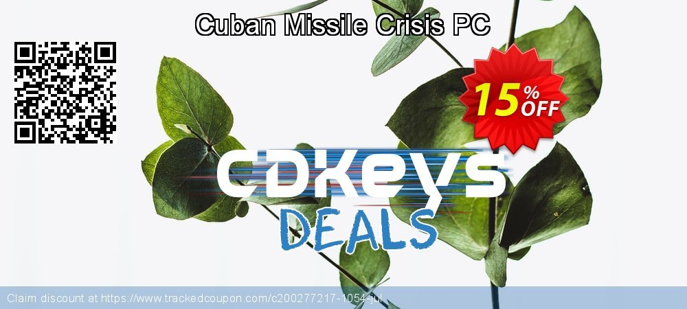 Get 10% OFF Cuban Missile Crisis PC offering sales
