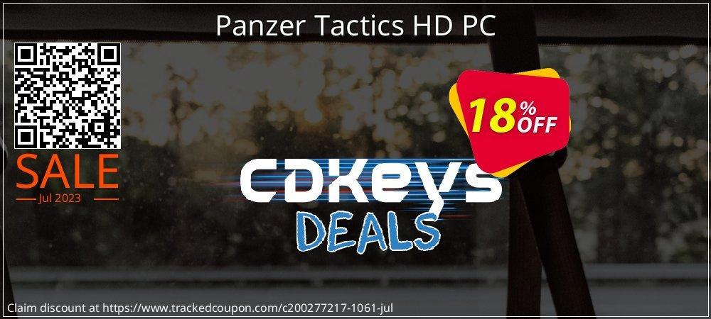 Panzer Tactics HD PC coupon on Black Friday sales
