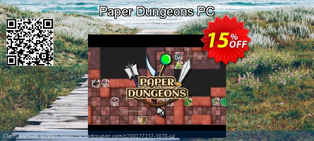 Paper Dungeons PC coupon on National Cleanup Day discounts