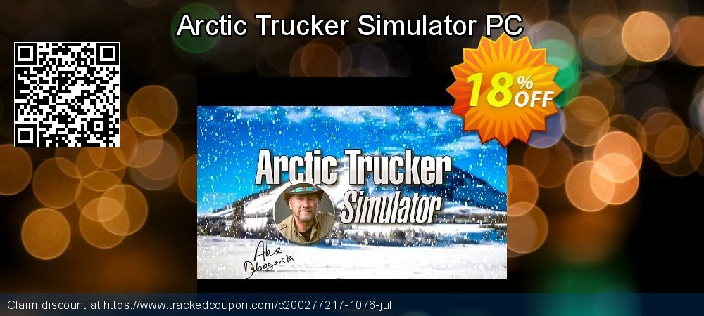 Arctic Trucker Simulator PC coupon on Lazy Mom's Day offering discount