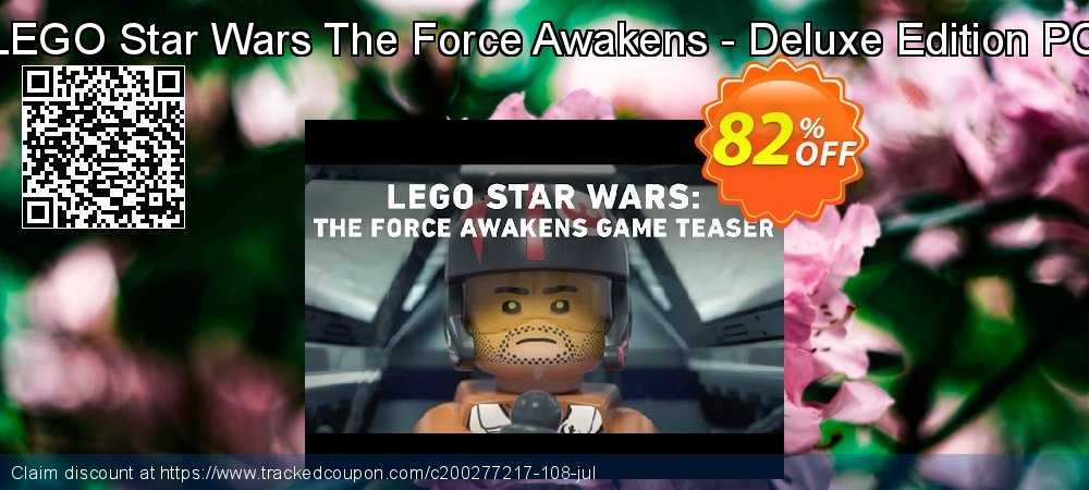 LEGO Star Wars The Force Awakens - Deluxe Edition PC coupon on Mom Day offering discount