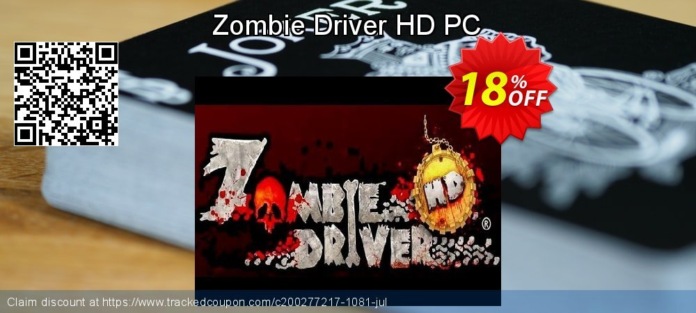 Zombie Driver HD PC coupon on American Chess Day sales