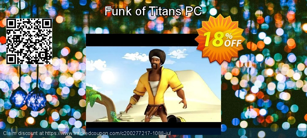 Funk of Titans PC coupon on Talk Like a Pirate Day discounts