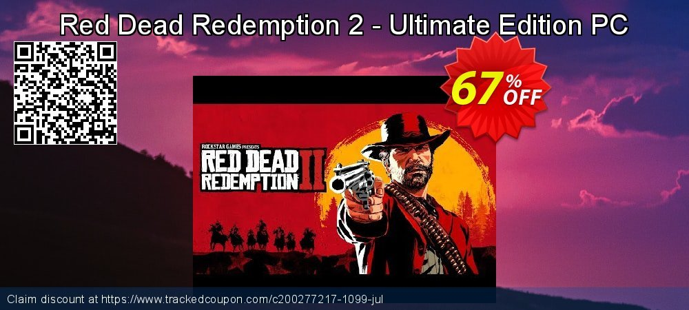 Red Dead Redemption 2 - Ultimate Edition PC coupon on Halloween deals