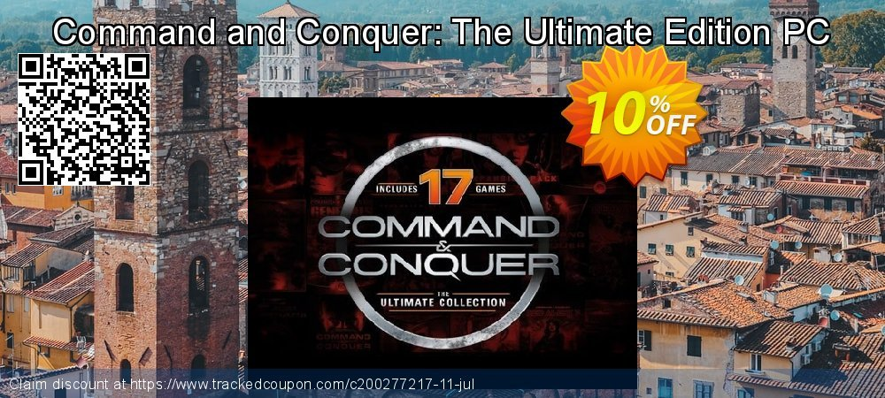 Command and Conquer: The Ultimate Edition PC coupon on Mothers Day super sale