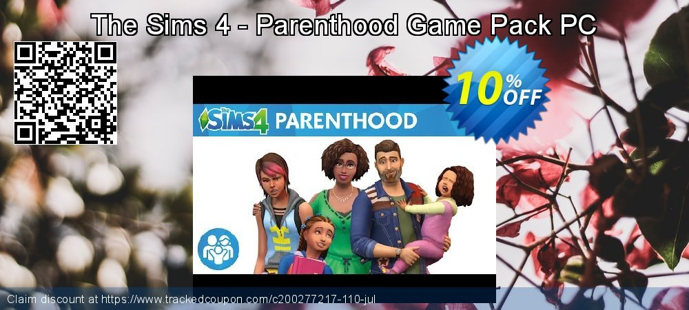 The Sims 4 - Parenthood Game Pack PC coupon on Mom Day super sale