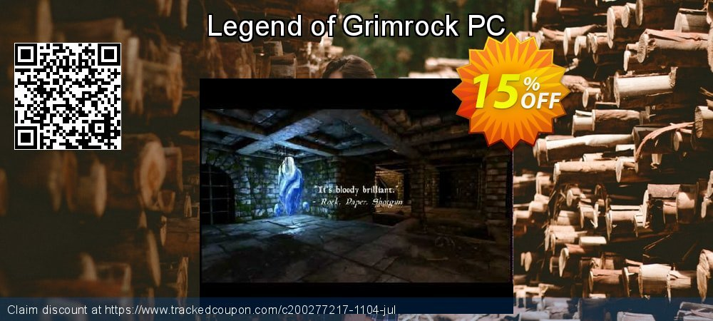 Legend of Grimrock PC coupon on National Cleanup Day offering sales