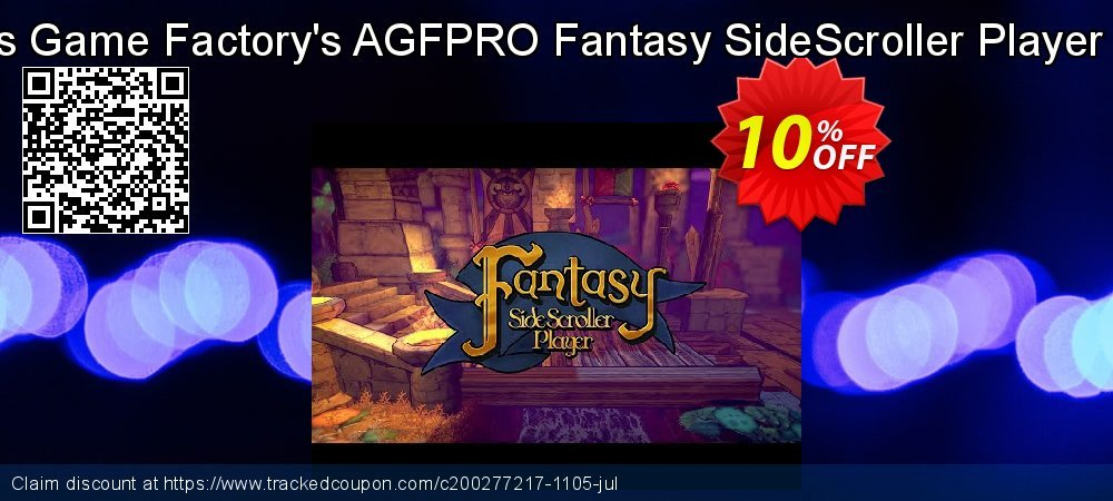 Axis Game Factory's AGFPRO Fantasy SideScroller Player PC coupon on Talk Like a Pirate Day super sale