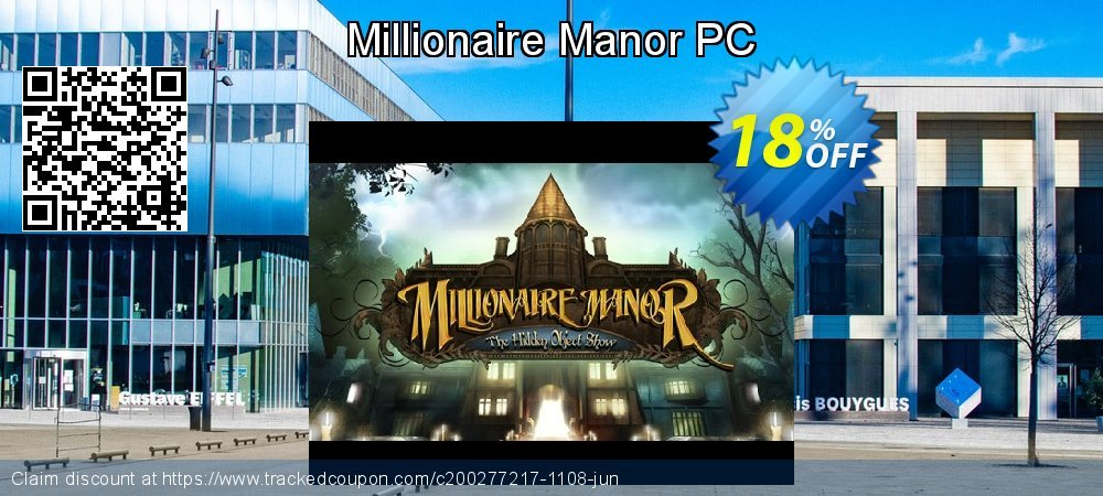 Millionaire Manor PC coupon on National Family Day sales